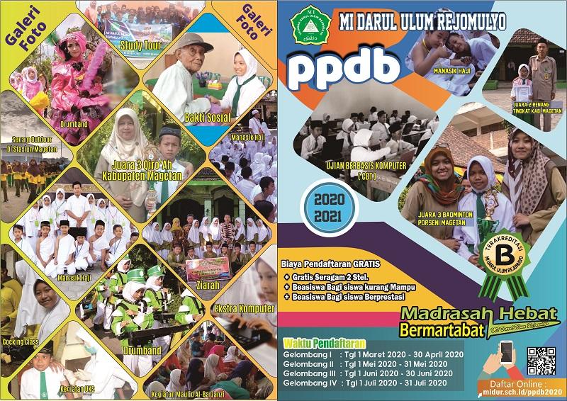 PPDB MI Darul Ulum 2020/2021 Depan