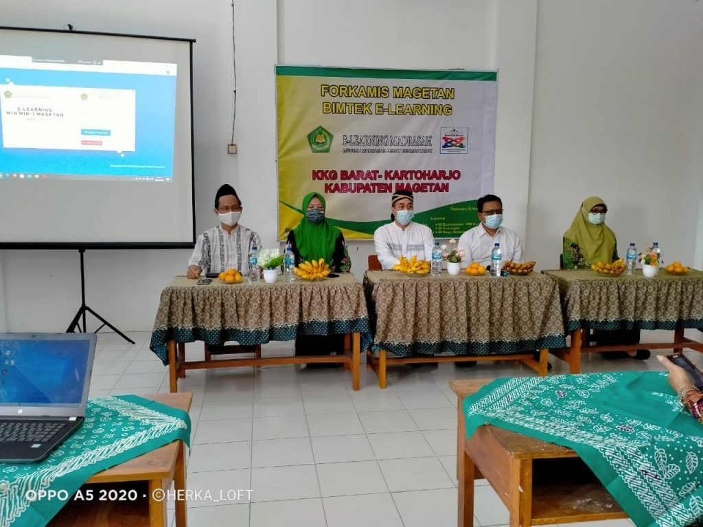 Bimtek E-Learning madrasah