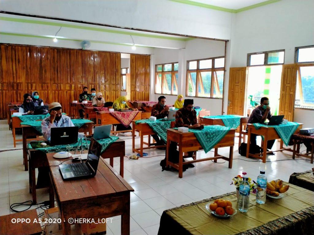 Bimtek E-Learning madrasah1