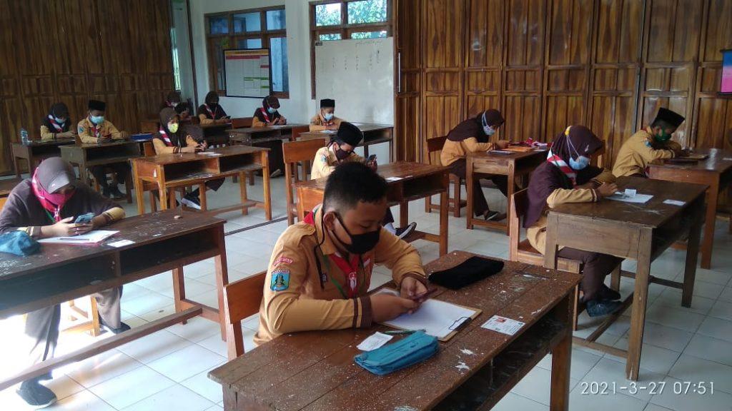 Pelaksanaan Ujian Madrasah MI Darul Ulum